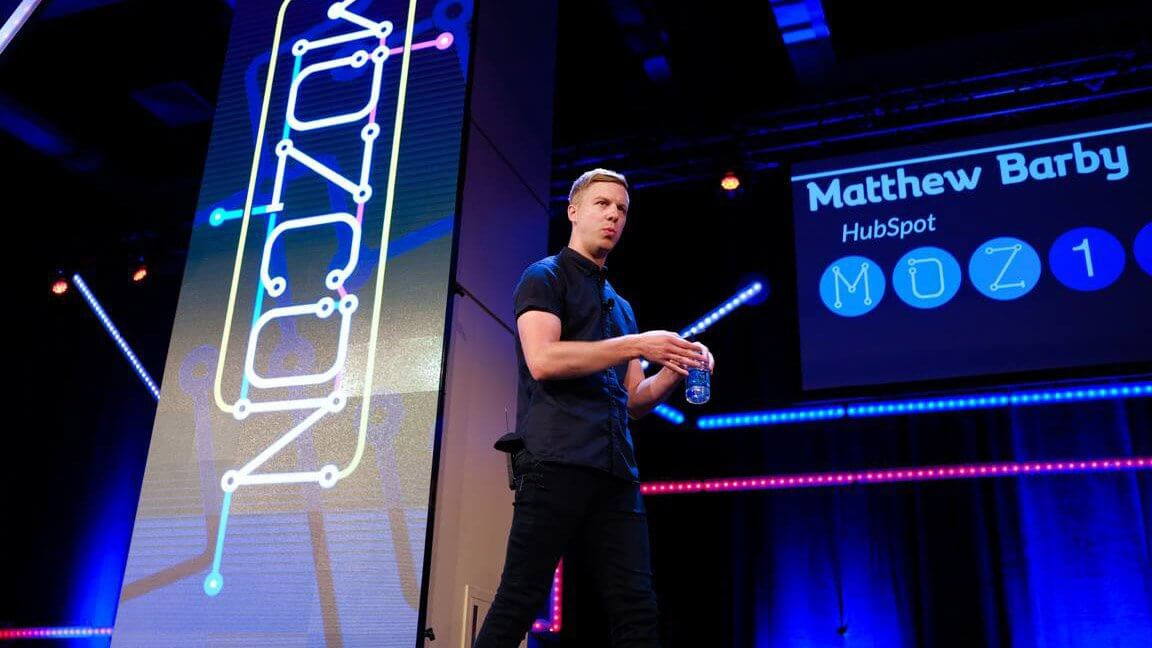 MozCon 2017 Matthew Barby